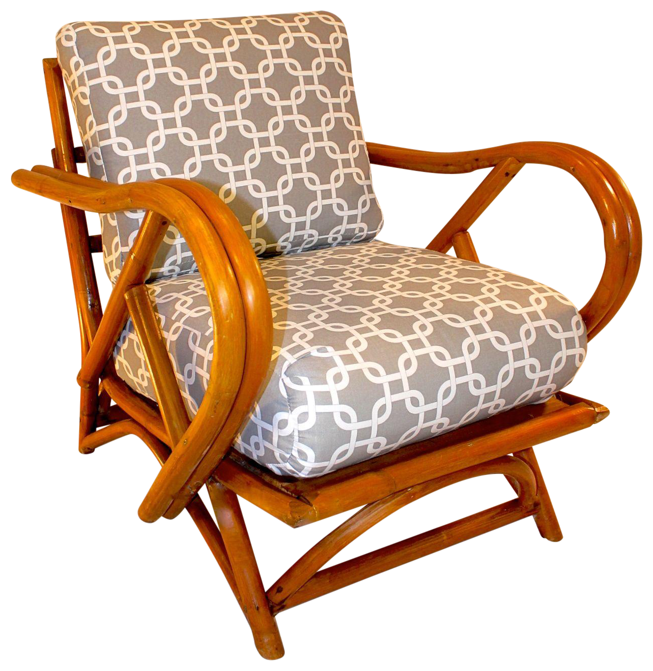 Superbe Ritz Tropitan Style Bamboo Lounge Chair