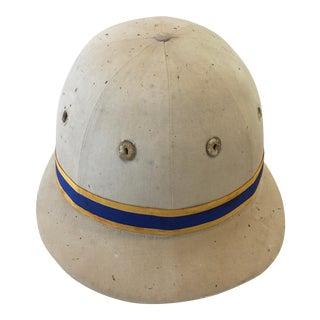 1960s English Polo Helmet Equestrian Decor For Sale