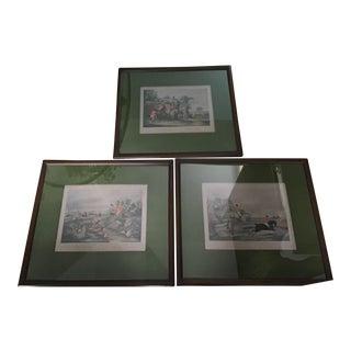Bachelor's Hall Fox Hunting Prints - Set of 3 For Sale