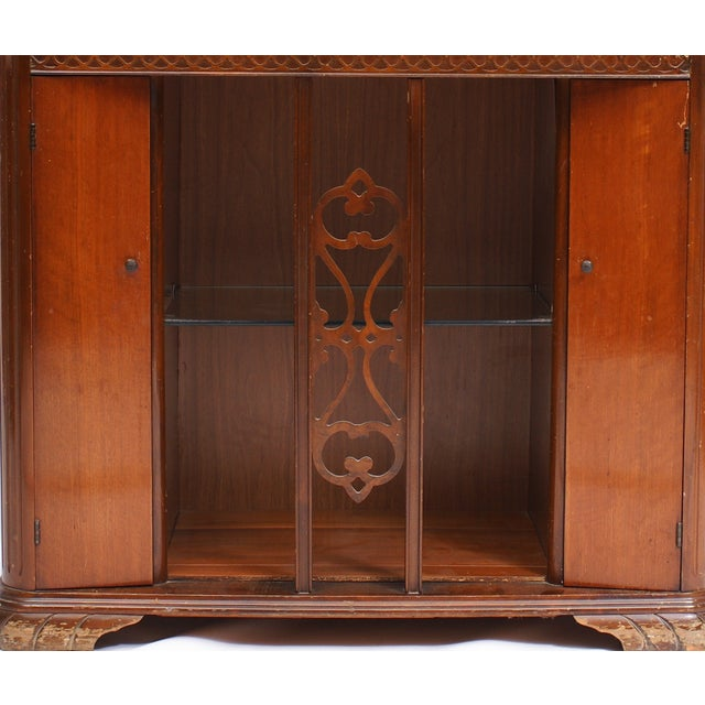 AntiqueUpcycled Radio to Bar Cabinet For Sale - Image 5 of 5