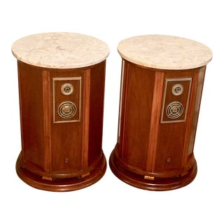 Vintage Grenadier Empire Model 7000 End Table Speakers For Sale