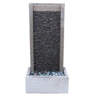 Slate Stack Wall Fountain For Sale
