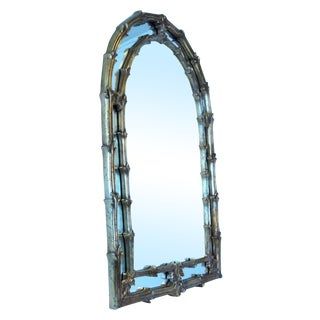 Italian Style Giltwood Mirror For Sale