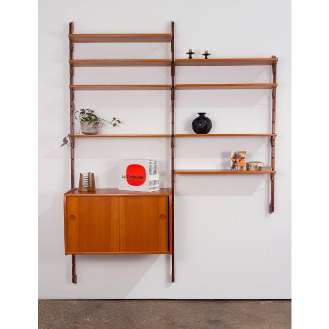 1960s Ergo Wall Unit for Blindheim Møbelfabrik For Sale - Image 5 of 10
