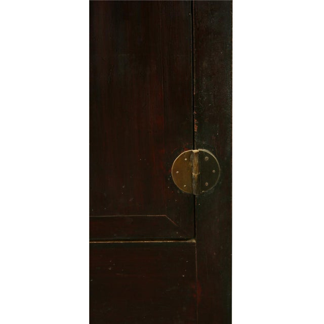 Late Qing Dynasty Elm & Chinese Fir Cabinet - Image 6 of 8