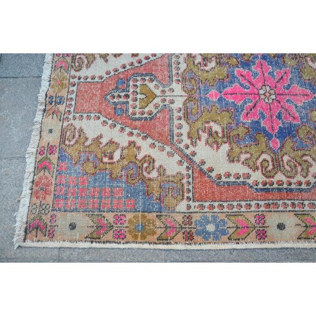 Oushak Anatolian Carpet - 4′5″ × 6′10″ - Image 6 of 6