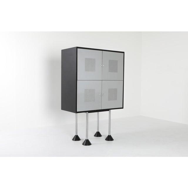 Postmodern 1980s Pastoe Postmodern Memphis Style Cabinet by Gerard Van Den Berg For Sale - Image 3 of 12