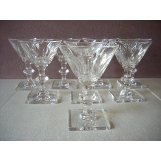 1930s Crystal Cordials by Hawkes - Set of 8 Preview