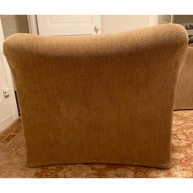 Cassina 1970s Vintage Mario Bellini for Cassina Italian 685 Armchair- A Pair For Sale - Image 4 of 13