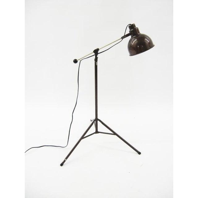 Metal 1960s Industrial floor lamp For Sale - Image 7 of 10