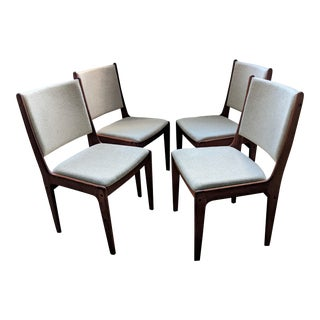 Scandinavia Woodworks Danish Modern Dining Chairs – Set of 4