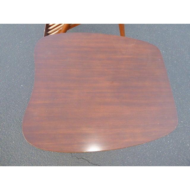 Danish Modern Magazine Rack Side Tables - A Pair - Image 8 of 11