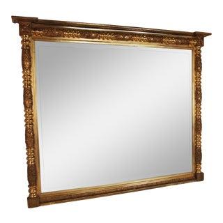 19th Century American Federal Gilt Mirror