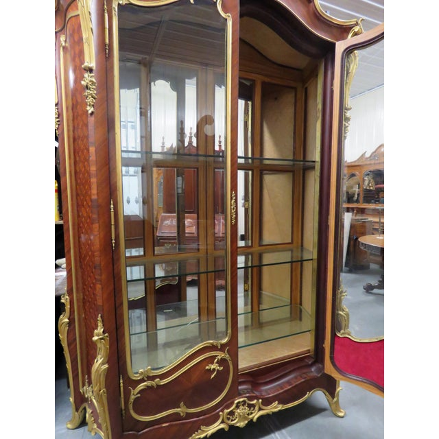 Signed Francois Linke Louis XV Cabinet For Sale - Image 9 of 12