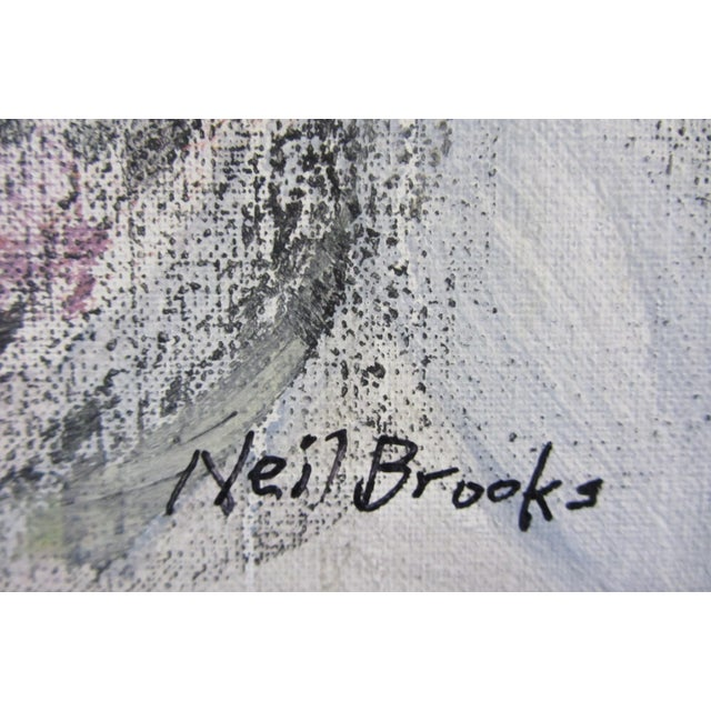 """2010s Neil Brooks """"Dog Beach"""" Landscape Painting For Sale - Image 5 of 6"""