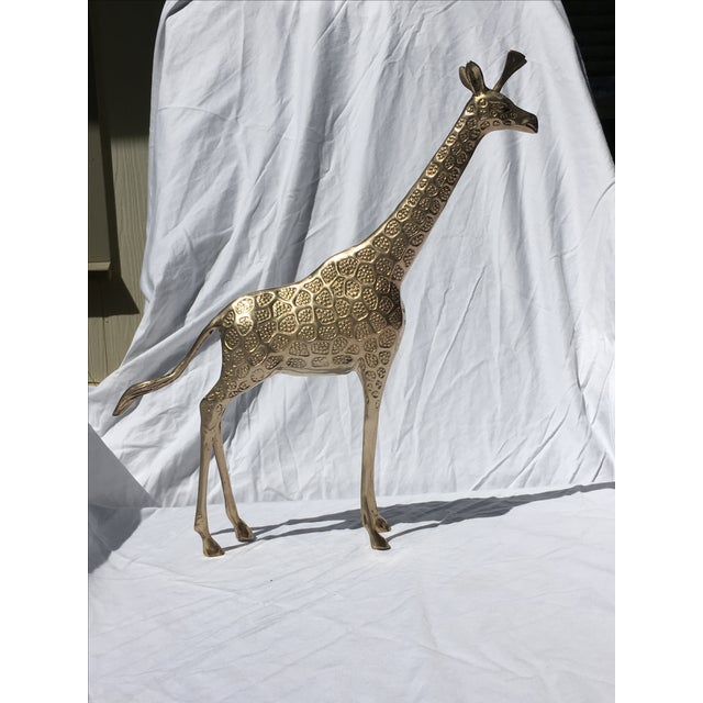 Brass Giraffe - Large - Image 2 of 5