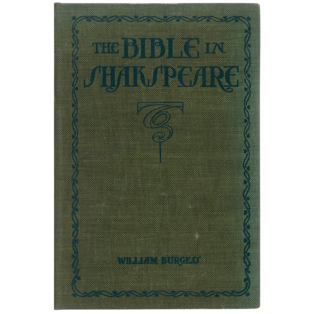 The Bible In Shakespeare For Sale