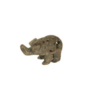Vintage African Wire Design Elephant For Sale