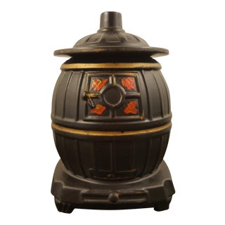 McCoy Pot Belly Stove Cookie Jar For Sale