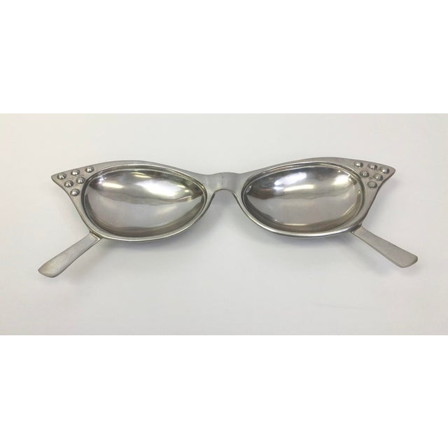 1980s Vintage Pop Culture Eye Glasses Catch All Dish For Sale - Image 5 of 5