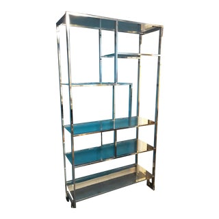 1970s Milo Baughman Etagere For Sale