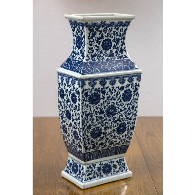 Blue & White Chinese Ginger Vases - A Pair - Image 4 of 7