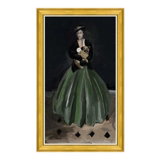 Dana Gibson Portrait of a Lady Giclee on Canvas Painting For Sale