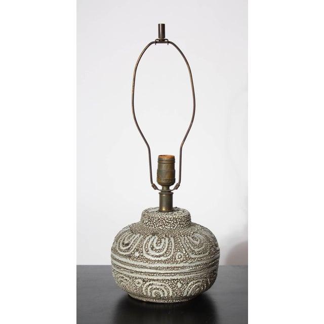 Design Technics Textured Ceramic Table Lamp - Image 2 of 7