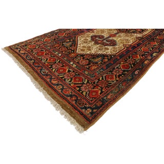 1900s Antique Persian Malayer Long Hallway Runner - 3′ × 15′6″ Preview