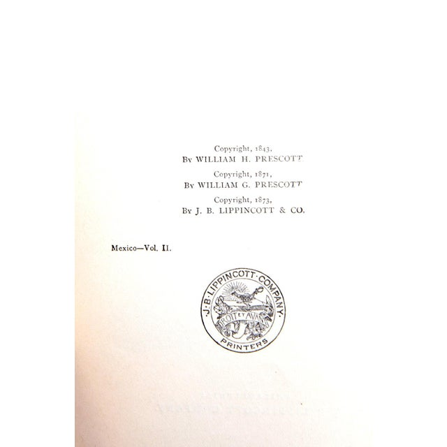 History of the Conquest of Mexico by William H. Prescott For Sale In Atlanta - Image 6 of 8
