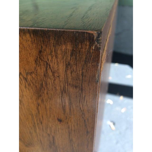 Vintage Herringbone Thomasville Credenza/Dresser For Sale - Image 11 of 11