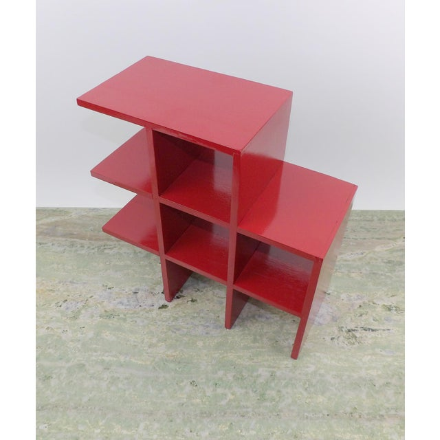 Red Wood Tabletop/Hanging Shelf For Sale In Sacramento - Image 6 of 8