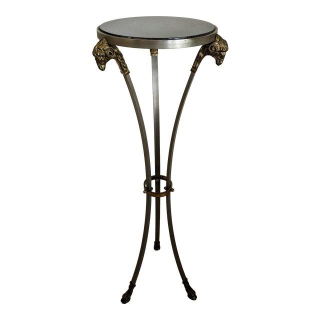 "1970""s Jansen Style Ram's Head Pedestal Table For Sale"