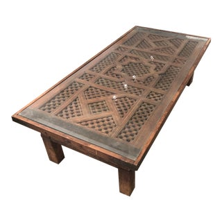 "Moroccan ""Door"" Coffee Table For Sale"