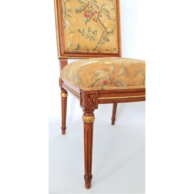 1960s Vintage Louis XVI French Directoire Style Chair For Sale In Miami - Image 6 of 13