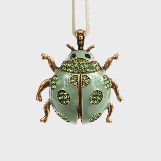 Modern Ladybug Hanging Ornament, Mint For Sale - Image 3 of 3