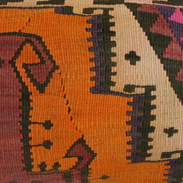 Rug & Relic Kilim Lumbar Pillow - Image 2 of 2