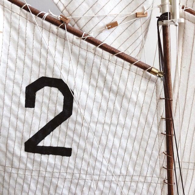 """Metal Vintage New York Pilot Boat """"Phantom"""" 1868 Model For Sale - Image 7 of 8"""