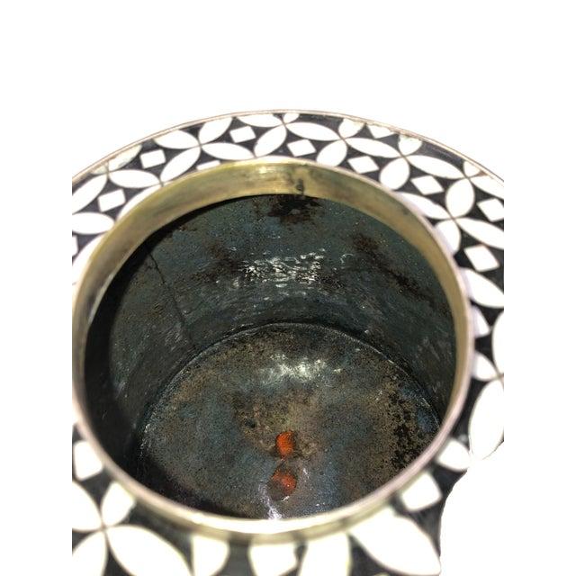 Geometric Fabienne Jouvin Tea Jar Canister For Sale - Image 4 of 6