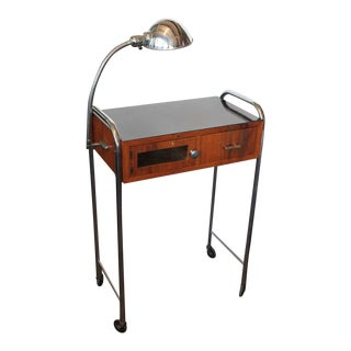 1930's Vintage Original Art Deco Medical Table For Sale