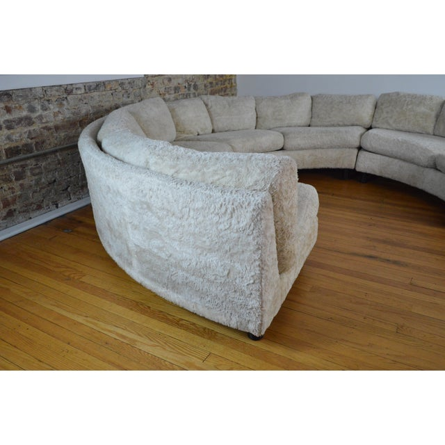 Thayer Coggin Amazing Milo Baughman Mid Century Modern Sectional Pit Sofa For Sale - Image 4 of 10
