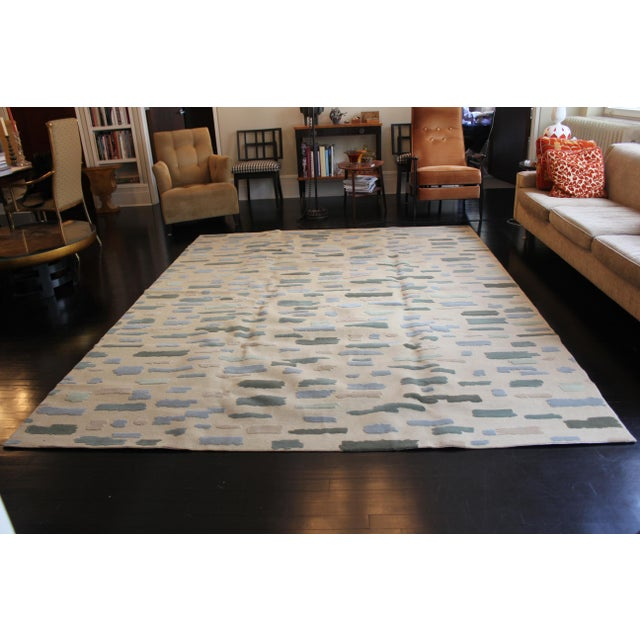 Contemporary Barry Goralnick Collection for Stark Dashes Area Rug - 8′ × 10′ For Sale - Image 3 of 5