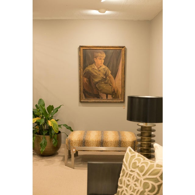 Traditional H Abramson Oil Painting For Sale - Image 3 of 4