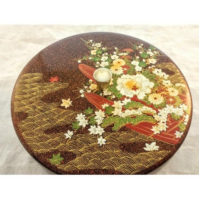 Japanese Mid Century Melamine Decorative Box - Image 3 of 5