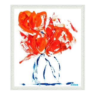Oliver Gal 'All Wrapped Up by Claire Sower' Framed Art For Sale