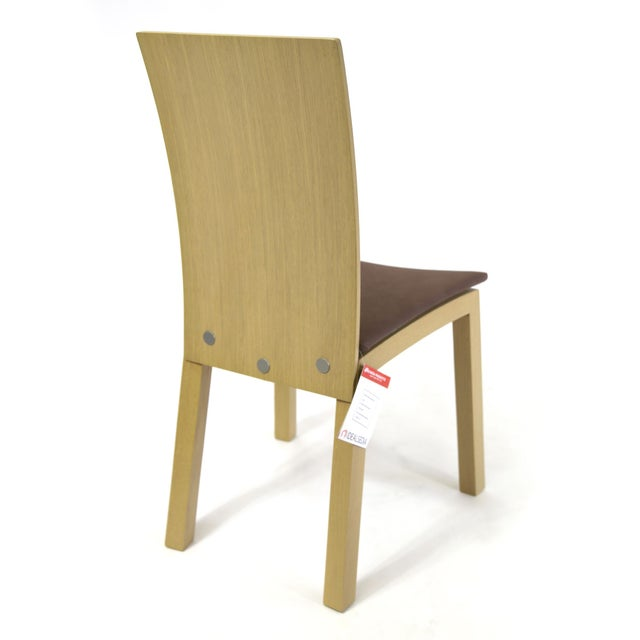 Plywood Idealsedia Italian Made Post Modern Side Chairs - a Pair For Sale - Image 7 of 13
