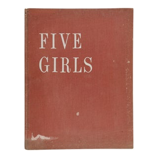 "1962 Sam Haskins ""Five Girls"" Nude Photography Book"