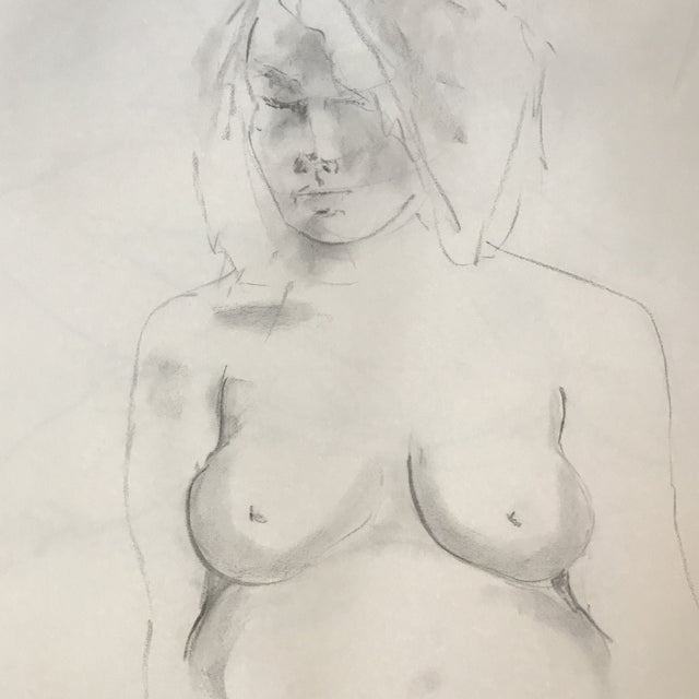 Pregnant Nude Drawing - Image 3 of 3