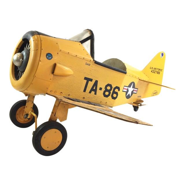 Handmade Fighter Plane Pedal Car For Sale