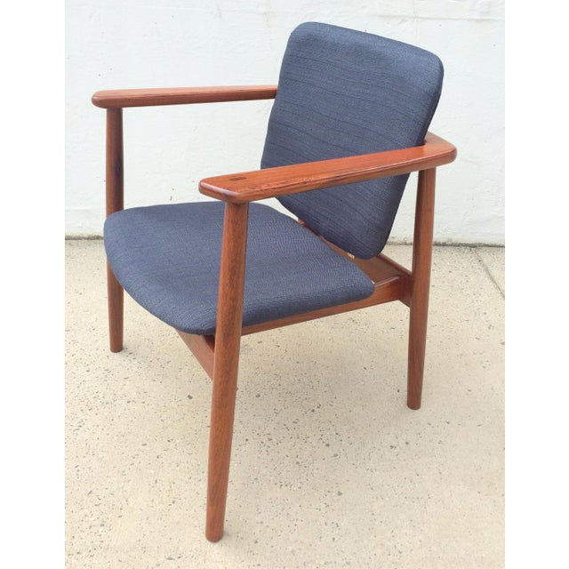 Danish Modern Børge Mogensen Teak Lounge Chair - Image 4 of 10